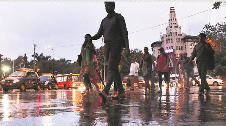 Mumbai Rains, Mumbai weather forecast, Monsoons, Mumbai Monsoon, Indian Express News