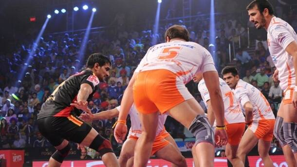 Pro Kabaddi League 2017, PKL season 5, PKL 2017, PKL 12 teams, PKL captains, Anup Kumar, Rahul Chaudhari, Pardeep Narwal, Kabaddi photos, Indian Express