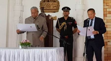 TR Zeliang sworn in as the new Chief Minister of Nagaland
