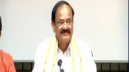 Venkaiah Naidu files nomination for Vice-President, says grateful to PM Modi