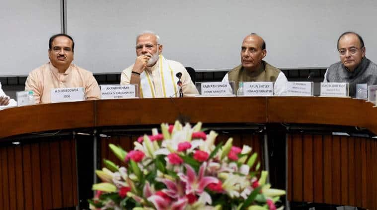 Narendra Modi, cow protection, cow vigilantism, cow killing, all party meet, india news, indian express news