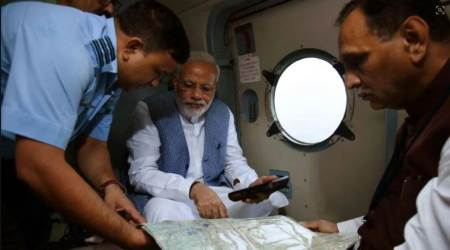 No respite from rain, PM Narendra Modi announces Rs 500 crore interim relief for flood-hit Gujarat