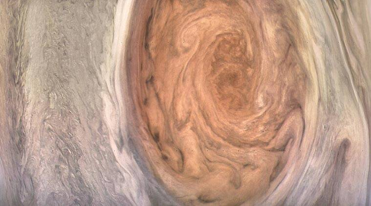 NASA, NASA Jupiter, NASA Juno Jupiter mission, Juno Jupiter mission, Jupiter Great Red Spot images, NASA Jupiter Flyby images, Jupiter Juno Great Red Spot, Great Red Spot images, Great Red Spot on Jupiter, space news