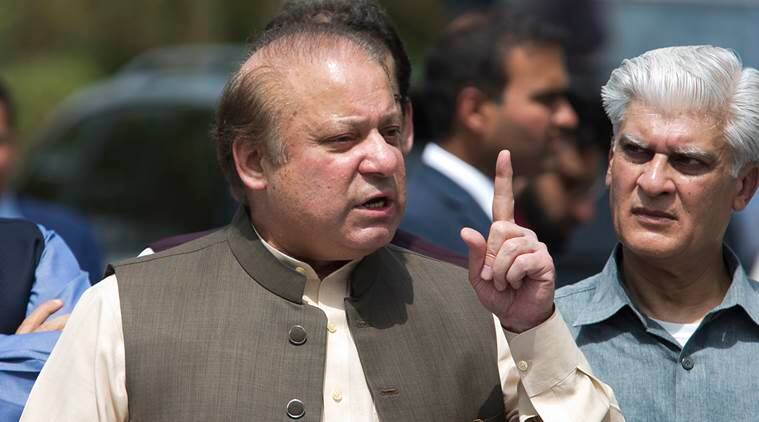 Ousted Pakistan PM Nawaz Sharif leaves for UK to see ailing wife