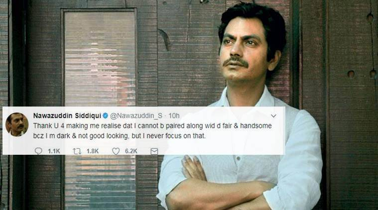 My tweet just a reply; whole industry is not racist: Nawazuddin Siddiqui