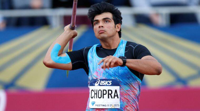 Neeraj Chopra, Javelin throw, Indian express