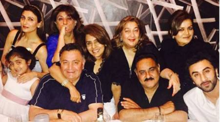 Ranbir Kapoor might be busy, but he doesn't miss his dinner date with Neetu Kapoor on the eve of her birthday. See photos