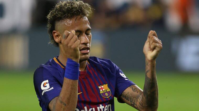 Barcelona's Lionel Messi says 'good luck' to Neymar