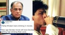 Pahlaj Nihalani's remark that superstars must not drink or smoke on screen sets Twitter buzzing