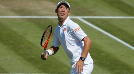 Kei Nishikori beaten in low-key return from injury