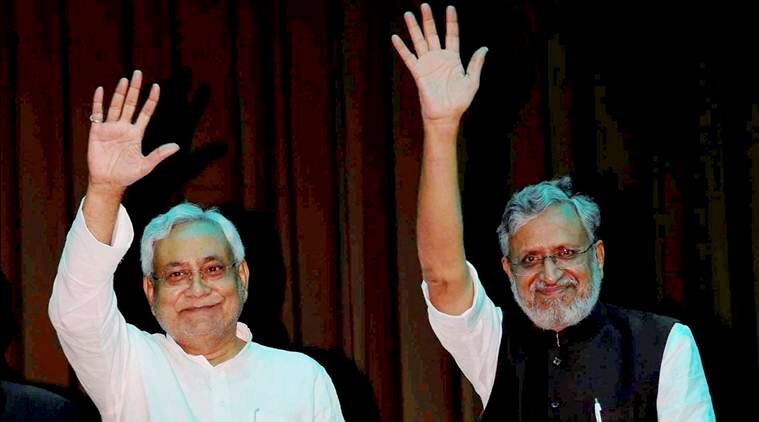Nitish Kumar, Sushil Kumar Modi, Bihar Floor Test, NDA, JD(U), Narendra Modi, India news, Indian Express