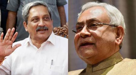 Goa CM Manohar Parrikar congratulates Nitish Kumar, says Bihar back on growth path