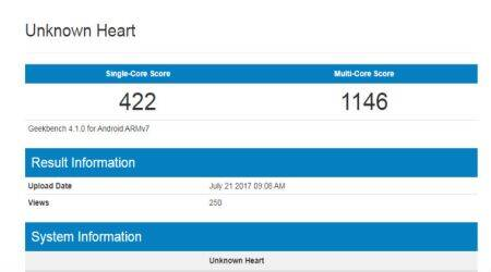 Nokia 2 spotted on Geekbench, likely to feature Snapdragon 210 SoC, 1GB RAM