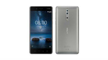 Nokia 8 leaks out in silver colour; smartphone launch imminent?