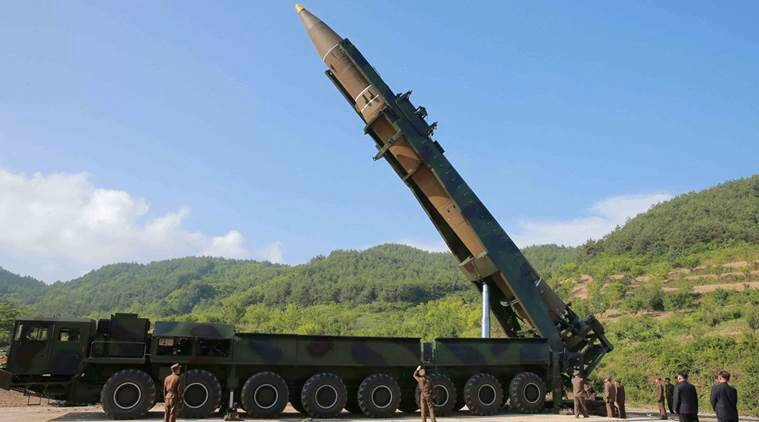 North Korea Missile, Guam, Japan North Korea Missile, Kyodo, Defence Minister Itsunori Onodera, North Korea-US Tension, World News, Indian Express news