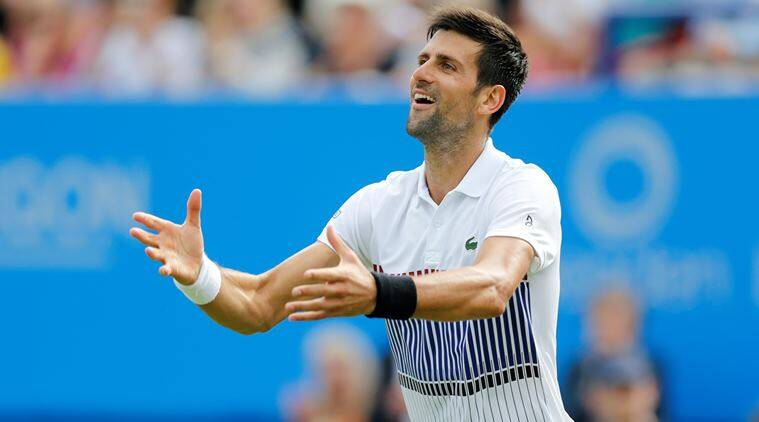 Novak Djokovic, Eastbourne, Indian Express