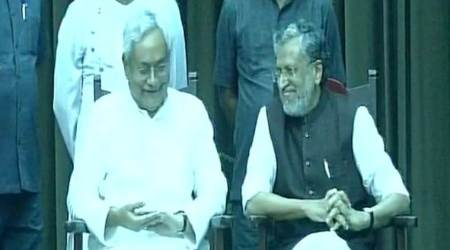 Nitish Kumar is back as Bihar Chief Minister in less than 24 hours, this time with BJP