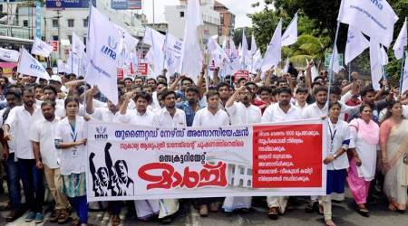 Kerala's nurses association goes on strike, demand minimum wages