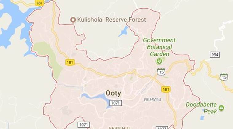 Ooty In India Map.Police Maintaining Strict Vigil In Tourist Town Of Tamil Nadu