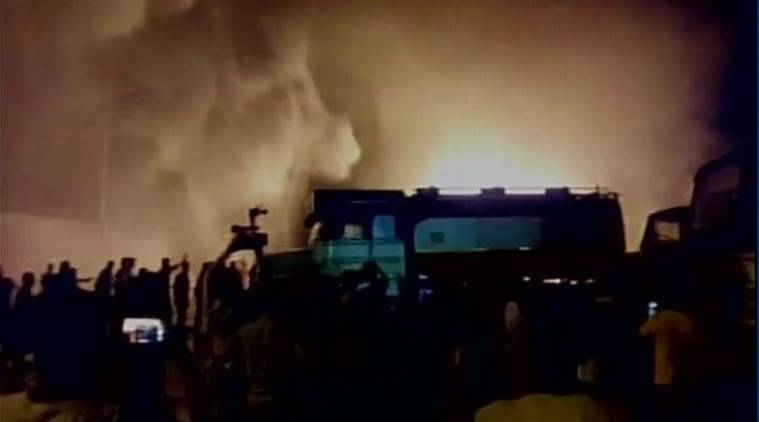 Siliguri fire, Siliguri oil tanker fire, Siliguri IOCL depot fire, Siliguri fire brigade, latest news, breaking news, indian express news