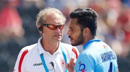 Roelant Oltmans , India Hockey coach, Sardar Singh, Azlan Shah Cup, Hockey World League, Hockey India League, Indian Hockey, Hockey News, Sports News, Indian Express