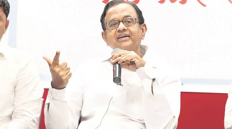 P Chidambaram, Demonetisation, Narendra Modi, Black money, P Chidambaram economy, RBI demonetisation, Business news, Indian Express
