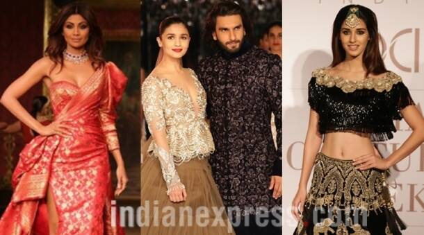 Alia, Ranveer, Shilpa, Huma and other celeb showstoppers at ICW 2017