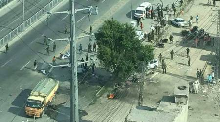 25 killed in suspected suicide blast near Lahore's Arfa Karim IT Tower