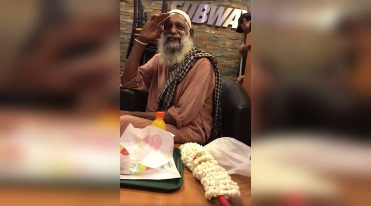 feel good stories, man helped in pakistan, old man helped by strangers, kindness stories, indian express, indian express news