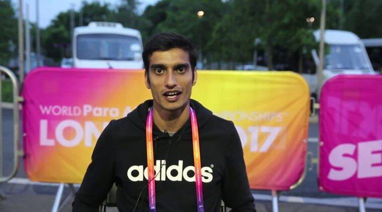 Sharad Kumar, Paralympics, Indian Express