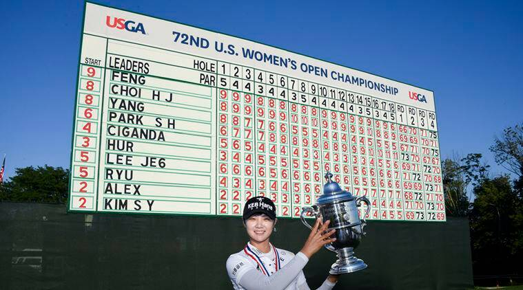 Park Sung-hyun, US Womens Open golf, Donald Trump, US President Donald Trump, Sports, Golf