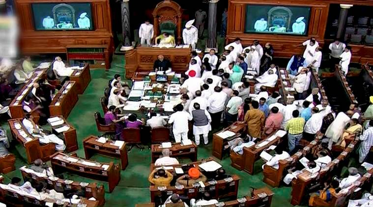 Parliament session leads to ruckus, adjourned till Wednesday