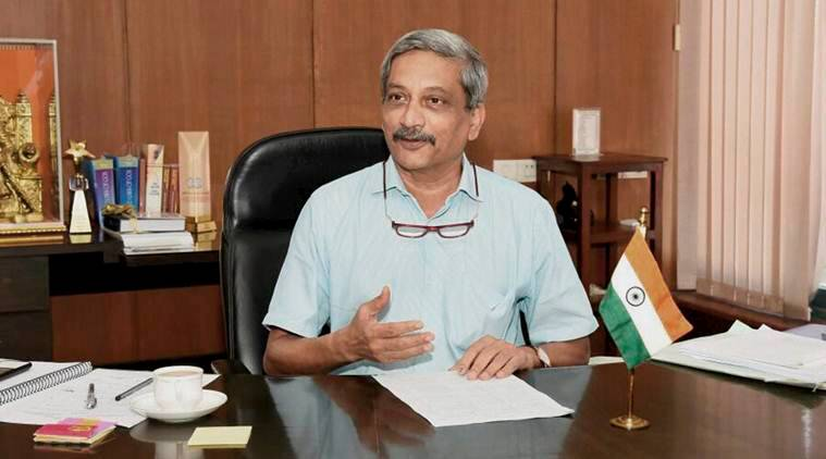 goa news, manohar parrikar news, india news, indian express news