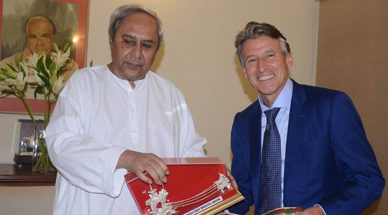 Chief Minister Odisha, Naveen Patnaik, Sebastian Coe, Kalinga Stadium, International Association of Athletics Federations, Athletics Federation of India, sports news, indian express