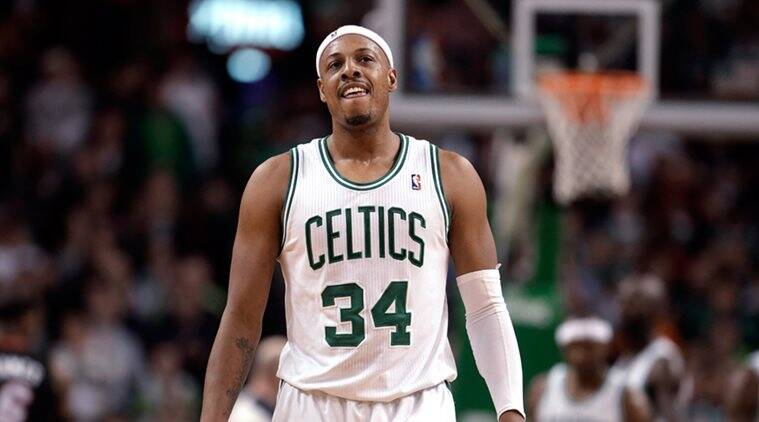 newest ca1e5 4af7c Paul Pierce signs with Boston to retire as member of Celtics ...