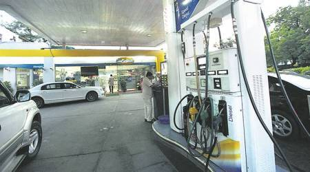 petrol price slashed, vat on petrol reduced, petrol pump in MP, fuel price reduced, Fuel price, Bhopla news, indian express