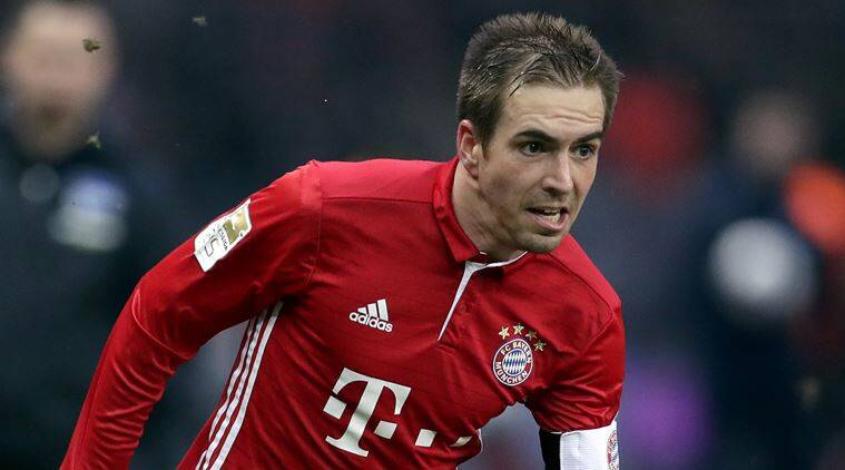 Philipp Lahm wins German footballer of the year 2016-17 award