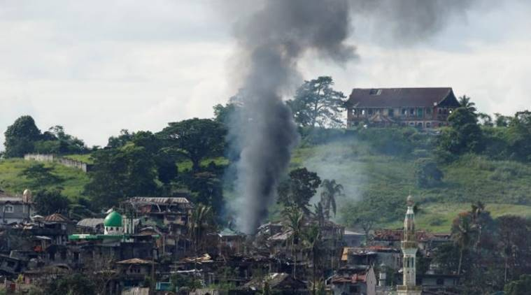 philippine army, philippines, marawi city, military airstrikes, islamists, islamists militants, world news