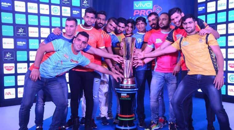 Pro Kabaddi league season 5, Telugu Titans, Tamil Thalaives