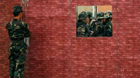 China's PLA carries out live-fire drill near India border