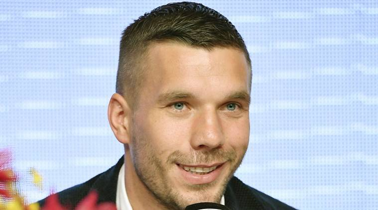 Vissel Kobe, Lukas Podolski, Asian Champions league, Lukas Podolski Germany, football news, sports news, indian express