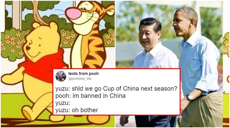 winnie the pooh, pooh banned in china, china bans pooh, winnie the pooh china, pooh xi jinping, xi jinping china, winnie the pooh xi jinping, indian express, indian express news