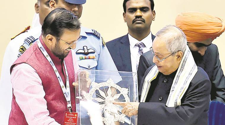 pranab mukherjee, digital technology, SWAYAM, SWAYAM Prabha, National Academic Depository, indian express news, india news