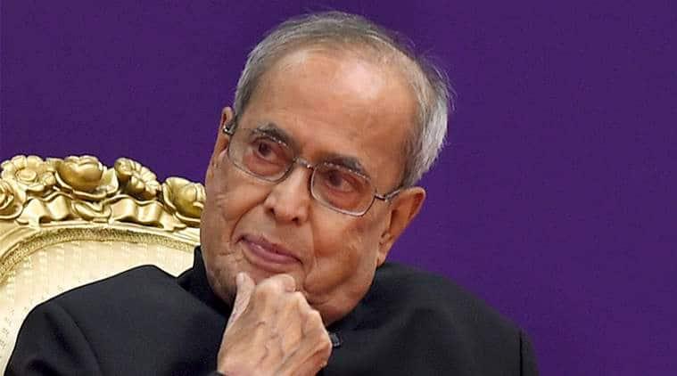 pranab mukherjee, congress, president, indian express