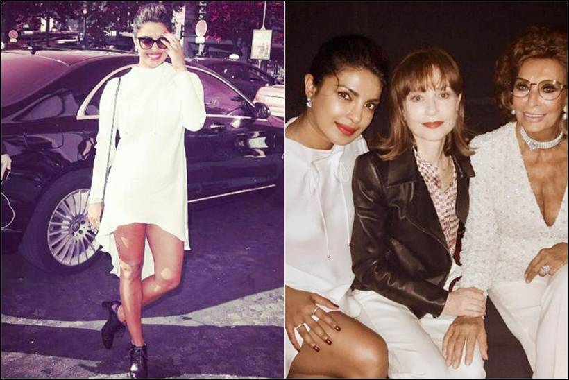 Priyanka Chopra enjoys meeting with Isabelle Huppert, Kate Winslet