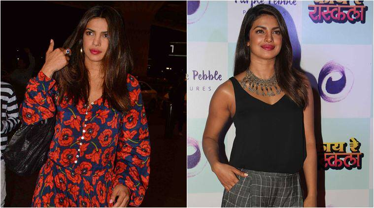 Priyanka Chopra, Priyanka Chopra fashion, Priyanka Chopra style file, Priyanka Chopra mumbai looks, Priyanka Chopra kaye re rascala promotions, kaye re rascala india fashion looks, fashion news, entertainment news, indian express