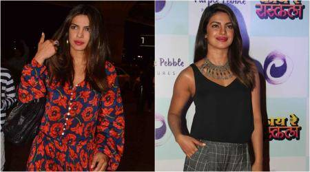 From flowy maxis to jumpsuits: Here's how Priyanka Chopra aced her fashion game on her short Indiavisit