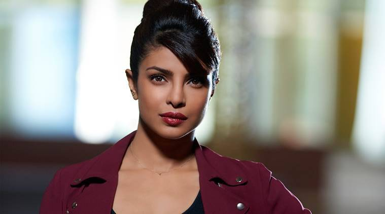 Priyanka Chopra as FBI Agent in Quantico