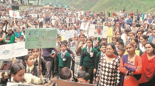 protests in Gumma and Shimla, rape of teenager in Punjab, India news, crime news, latest news