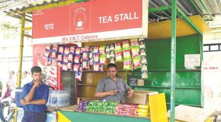 Days after expiry of contract, stall continues to sell food at Pune Railway stationplatform